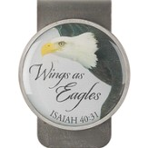 Wings As Eagles Money Clip