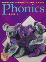 Modern Curriculum Press (MCP) Plaid Phonics Level K (2003 Edition)