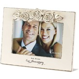 God Bless Our Anniversary, Roses Photo Frame