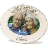 50th Anniversary Photo Frame, Oval