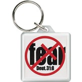 No Fear Keyring