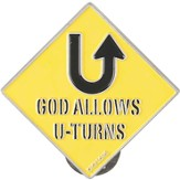 God Allows U Turns Visor Clip