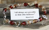 All Things Possible Bracelet, Brown