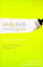 Sticky Faith Service Guide, Student Journal