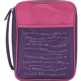 I Said A Prayer For You Today Bible Cover, Pink and Purple, Medium