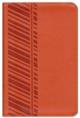 ESV Compact Bible, TruTone, Orange, Track Design