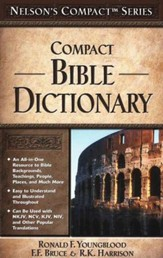Nelson's Compact Bible Dictionary  - Slightly Imperfect