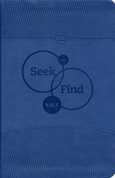 ESV Seek and Find Bible, TruTone, Blue