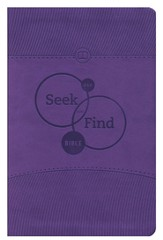 ESV Seek and Find Bible, TruTone, Lavender