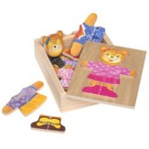 Bear Dress-Up Wood Toy