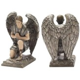 Kneeling Angel Figure, Gabriel