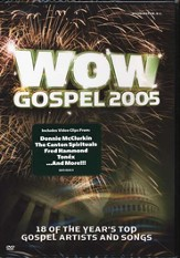 WOW Gospel 2005, DVD