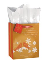 Snow Birds Gift Bag, Medium