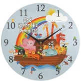 God Keeps His Promises Wall Clock, Canvas