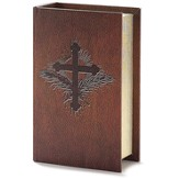 Bible Box with Cross, Small