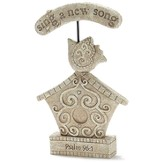 Sing A New Song Birdhouse Garden Figure