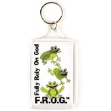 Fully Rely On God Keyring