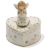 Angel, Heart Keepsake Box