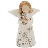 Angel with Flowers Figure