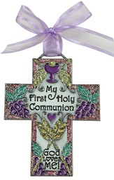 My First Holy Communion Wall Cross