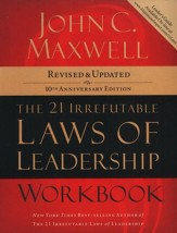 The 21 Irrefutable Laws of Leadership Workbook, revised & updated - Slightly Imperfect