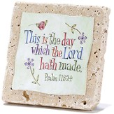 This Is the Day Which the Lord Hath Made Tabletop Plaque - Slightly Imperfect