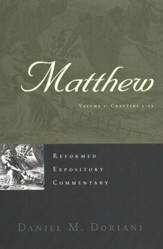 Matthew, 2 Vols: Reformed Expository Commentary [REC]