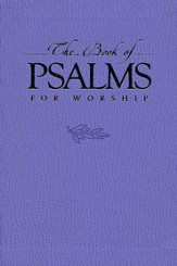 The Book of Psalms for Worship, Mini Edition, Lavender Imitation Leather