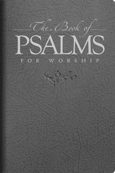 The Book of Psalms for Worship, Mini Edition, Gray Imitation Leather