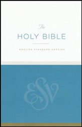 The Holy Bible, ESV, Economy