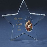 Holy Family Star Acrylic Ornament