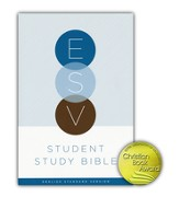 ESV Student Study Bible, Hardcover - Slightly Imperfect