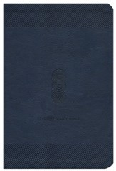 ESV Student Study Bible, TruTone Navy - Imperfectly Imprinted Bibles