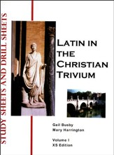 Latin in the Christian Trivium, Study Sheets and Drill Sheets