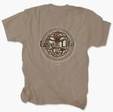 Tree of Eternal Life Shirt, Tan, 3X Large