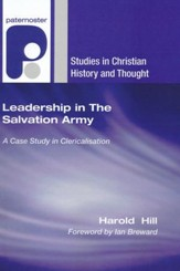 Leadership in The Salvation Army: A Case Study in Clericalisation