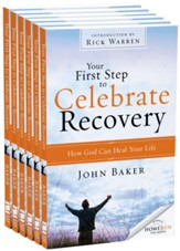 Your First Step To Celebrate Recovery Outreach Pack, 6 Pack