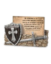 Word of God, Armor of God Scripture Card Holder, with 30 Cards, Ephesians 6