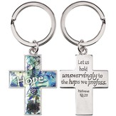 Cross, Hope Keyring