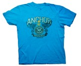 Anchor For the Soul Shirt, Blue, Youth Large