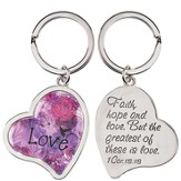 Heart, Love Keyring