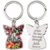 Angel, Grace Keyring