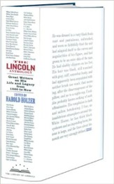The Lincoln Anthology: 85 Writers on His Life and Legacy from 1860 Until Now