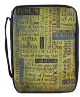 Names of Jesus Bible Cover, Large