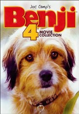 Benji 4 Movie Collection, 2-DVD Set