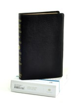 ESV Single Column Legacy Bible, Genuine Leather, black