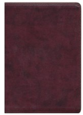Giant Print Bible, TruTone, Burgundy