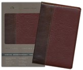 ESV Vintage Thinline Bible (Cowhide, Brown/Burgundy, Vintage Design)