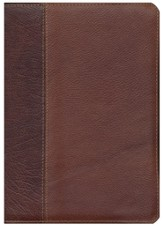 ESV Study Bible (Cowhide, Brown/Chestnut, Vintage Design)