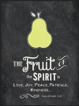The Fruit Of the Spirit, Chalkboard Wall Art